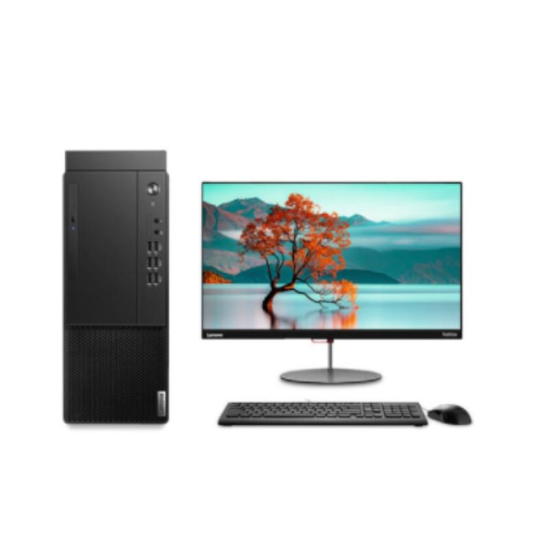 联想(Lenovo)启天M43E-A016 台式计算机 I5-10500 8G 1T机械 2G独显 无光驱 DOS +21.5英寸显示器 三年质保